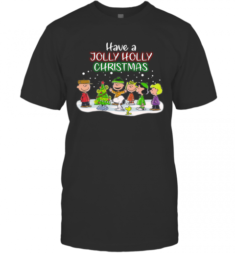 Snoopy Have A Holly Jolly Christmas Ugly T-Shirt