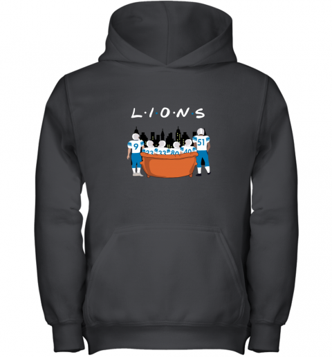 The Detroit Lions Together F.R.I.E.N.D.S NFL Youth Hoodie