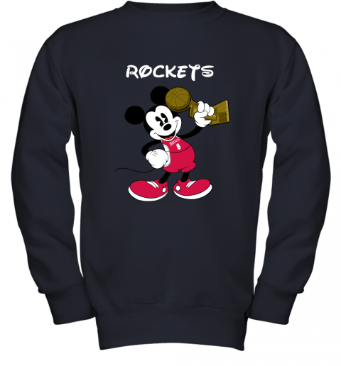 Mickey Houston Rockets Youth Sweatshirt