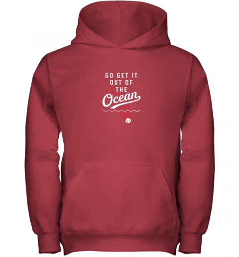 vmuh go get it out of the ocean baseball tee dodge youth hoodie 43 front red