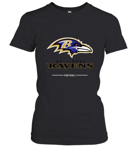 uuoi mens baltimore ravens nfl pro line black team lockup t shirt ladies t shirt 20 front black
