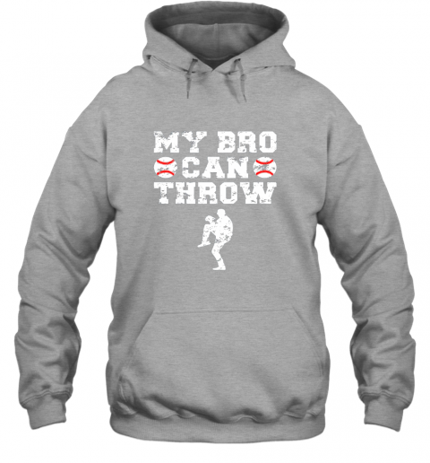 57ly kids cute baseball brother sister funny shirt cool gift pitcher hoodie 23 front sport grey