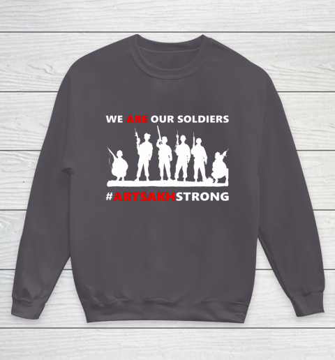 We Are Our Soldiers Youth Sweatshirt 5