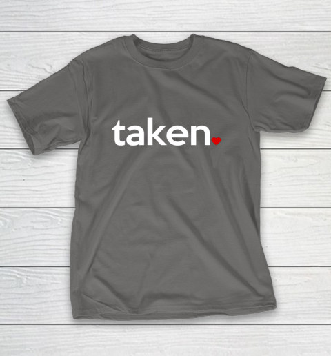 Taken Sorry I m Taken Gift for Valentine 2021 Couples T-Shirt 8