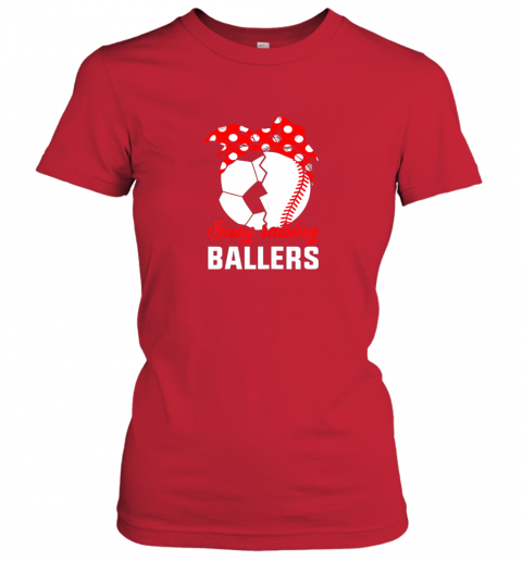 p3cd busy raising a ballerfunny baseball soccer mom ladies t shirt 20 front red