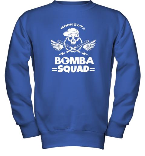 6098 bomba squad twins shirt minnesota baseball men bomba squad youth sweatshirt 47 front royal