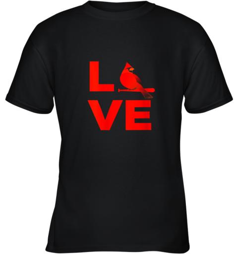Classic Love St. Louis Missouri Baseball Fan Retro Gift Youth T-Shirt