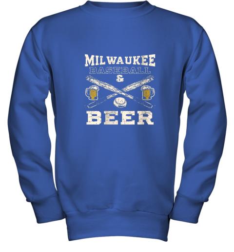 b7vl love milwaukee love baseball youth sweatshirt 47 front royal