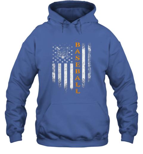 0keh vintage usa baseball distressed american flag patriotic gift hoodie 23 front royal