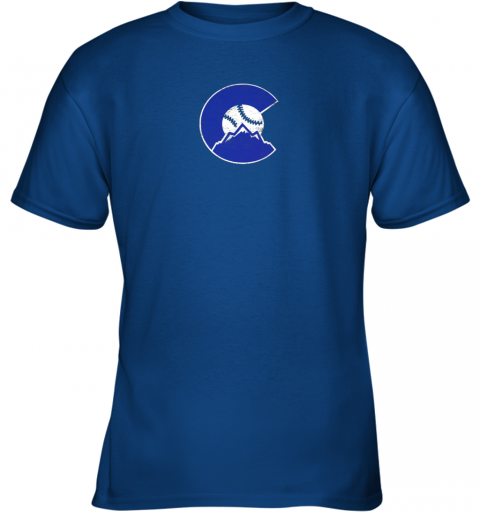 u72s colorado rocky mountain baseball sports team youth t shirt 26 front royal