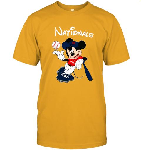 n9zi baseball mickey team washington nationals jersey t shirt 60 front gold