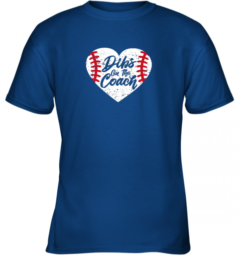 hwzx dibs on the coach funny baseball youth t shirt 26 front royal