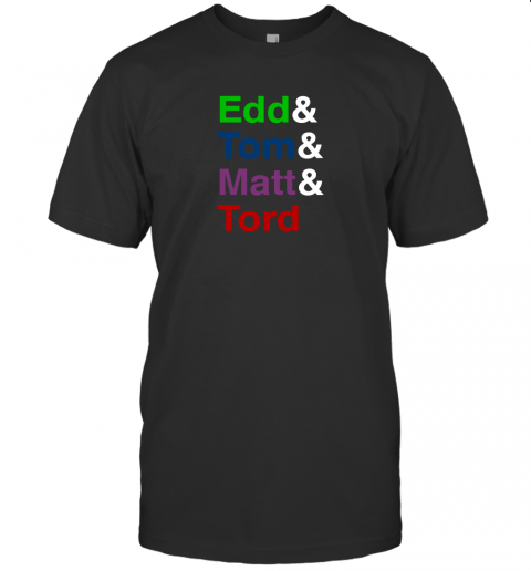 Edd And Tom And Matt And Tord T Shirt