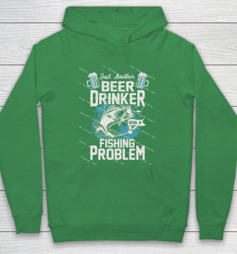 Beer Lover Funny Shirt Fishing ANd Beer Hoodie 5