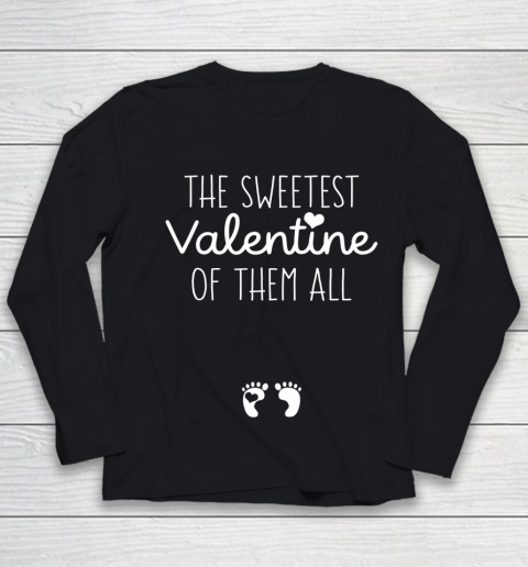 Womens Sweet Gift for Pregnant Wife Girlfriend Valentine Pregnant Youth Long Sleeve