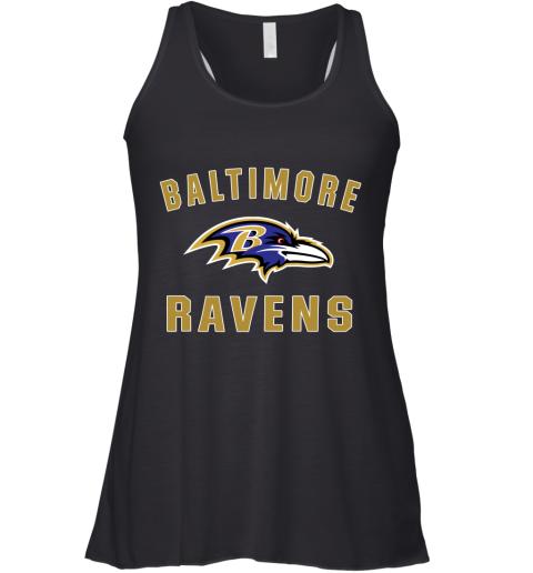 u0vf mens baltimore ravens nfl pro line by fanatics branded gray victory arch t shirt flowy tank 32 front black
