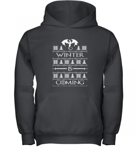 WINTER IS COMING GOT Youth Hoodie