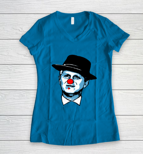 Michael Rapaport Clown Women's V-Neck T-Shirt 5