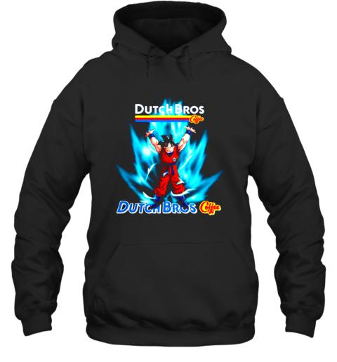 Son Goku Dutch Bros coffee shirt Hoodie