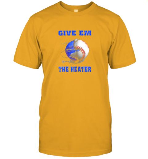 hgqt give em the heater baseball pitcher jersey t shirt 60 front gold
