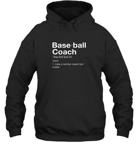 Coach Baseball Shirt Team Coaching Hoodie
