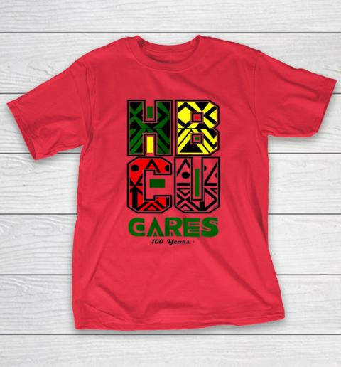 HBCU Cares College University Graduation Gift Black Schools T-Shirt 7