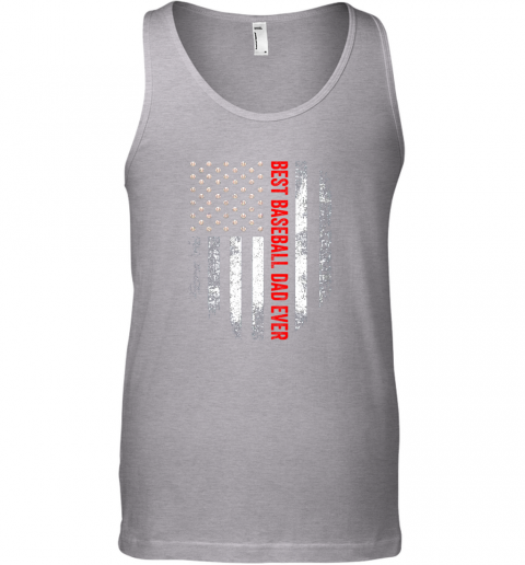 mnwd vintage usa best baseball dad ever american flag daddy gift unisex tank 17 front sport grey