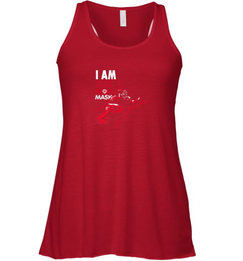 prqu i am the man in the iron mask baseball catcher flowy tank 32 front red