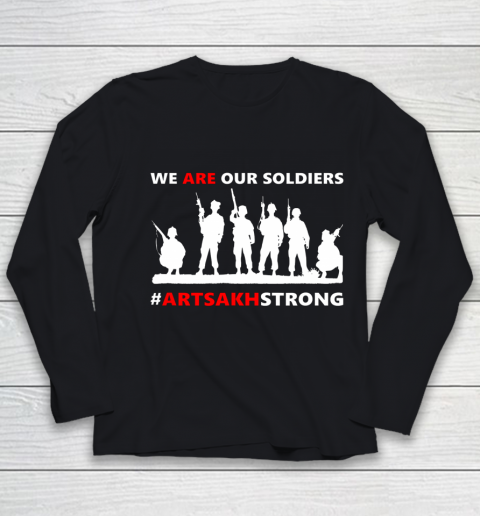 We Are Our Soldiers Youth Long Sleeve