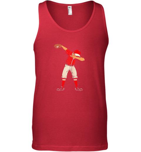xim4 dabbing baseball catcher gift shirt men boys kids bzr unisex tank 17 front red