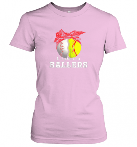 nxv1 busy raising ballers softball baseball shirt baseball mom ladies t shirt 20 front light pink
