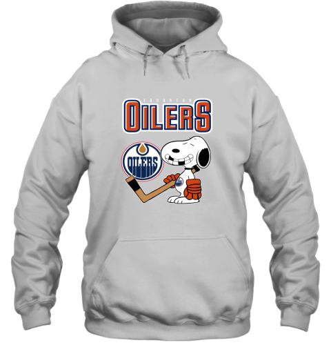 ubp1 edmonton oilers ice hockey broken teeth snoopy nhl shirt hoodie 23 front white