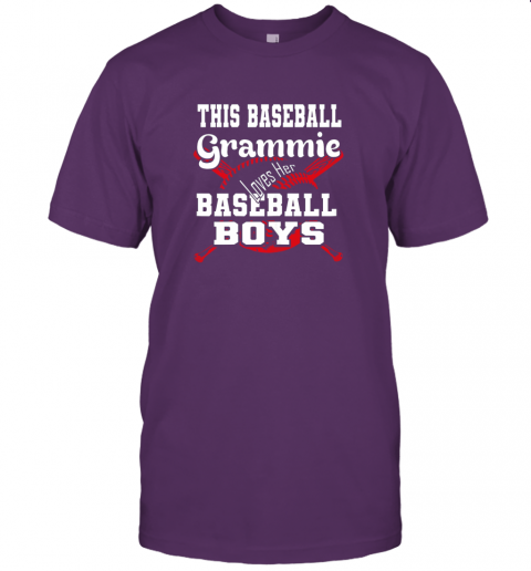 soul this baseball grammie loves her baseball boys jersey t shirt 60 front team purple