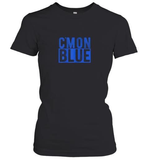 Cmon Blue, Umpire, Baseball Fan Graphic Lover Gift Women's T-Shirt