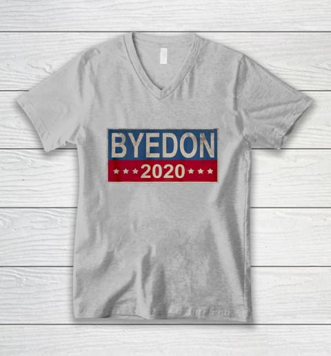 Bye Don 2020 ByeDon Button Joe Biden Funny Anti Trump V-Neck T-Shirt 2