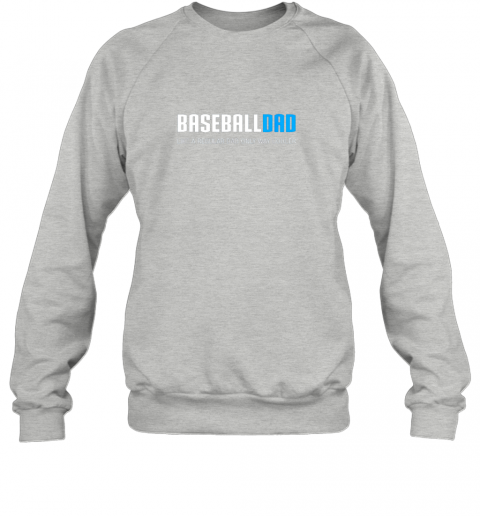 5hbz mens baseball dad shirt funny cute father39 s day gift sweatshirt 35 front sport grey