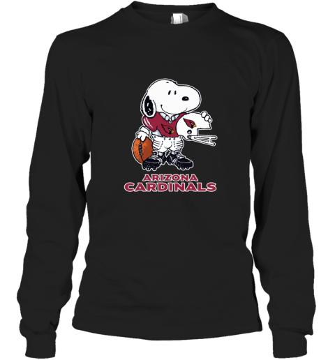 Snoopy A Strong And Proud Arizona Cardinals NFL Long Sleeve T-Shirt