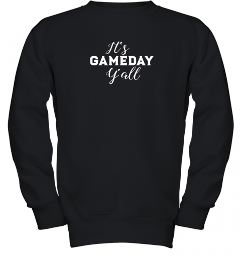 It's Game Day Y'all Football, Baseball, Basketball Youth Sweatshirt