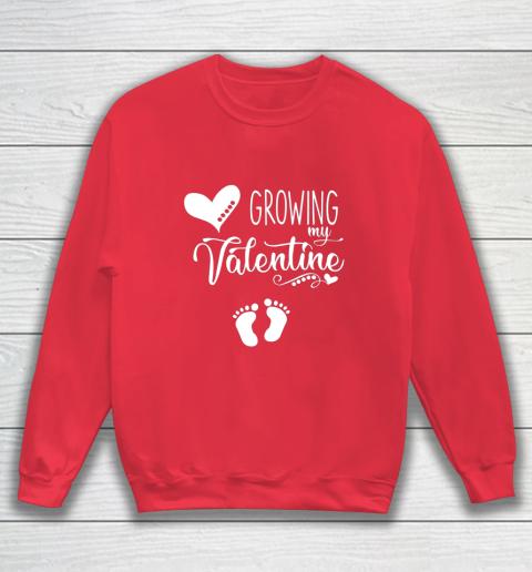 Growing my Valentine Tshirt for Wife Sweatshirt 7