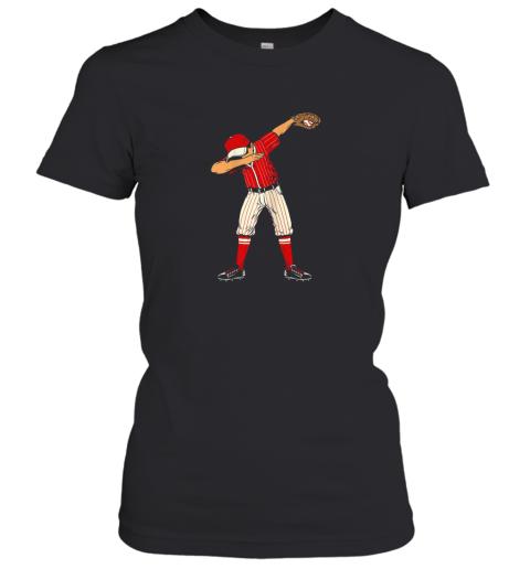 Dabbing Baseball Catcher Gift Shirt Kids, Men, Boys BZR Women's T-Shirt