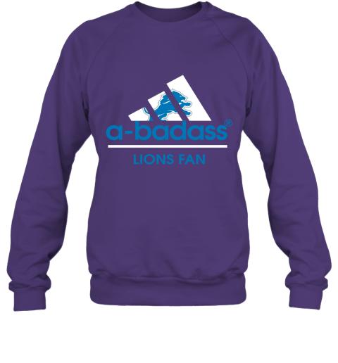 fu1p a badass detroit lions mashup adidas nfl sweatshirt 35 front purple