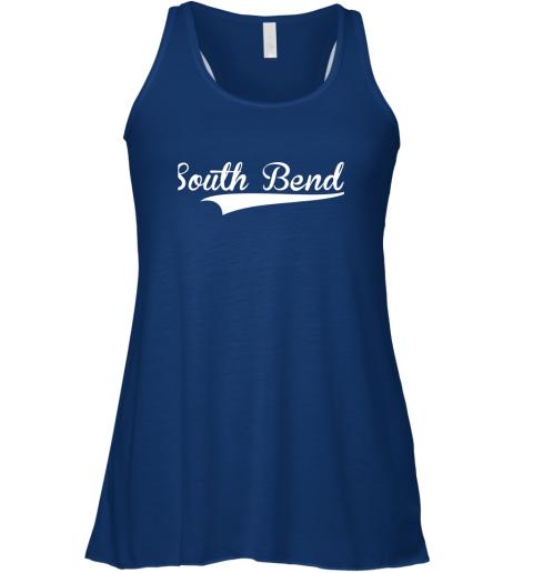 zep5 south bend baseball styled jersey shirt softball flowy tank 32 front true royal