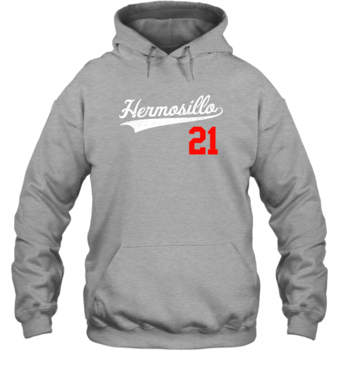 s70u hermosillo shirt in baseball style for mexican fans hoodie 23 front sport grey