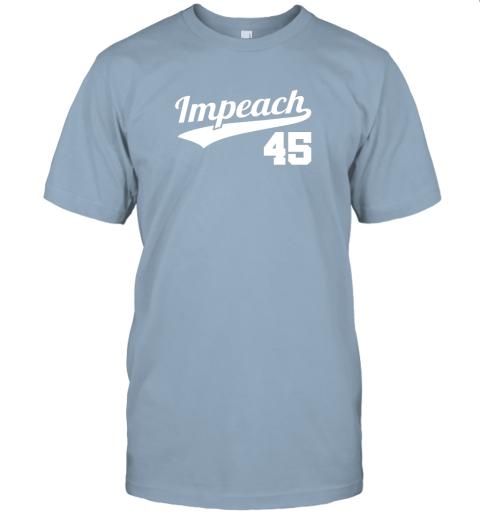 wqwp impeach donald trump 45 baseball logo jersey t shirt 60 front light blue