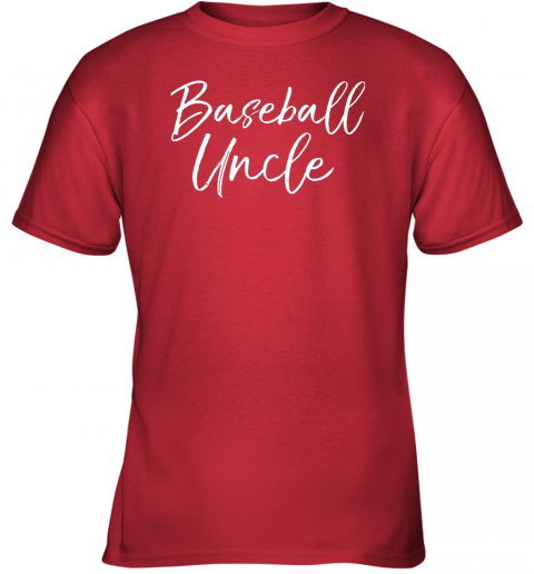 5rmk baseball uncle shirt for men cool baseball uncle youth t shirt 26 front red