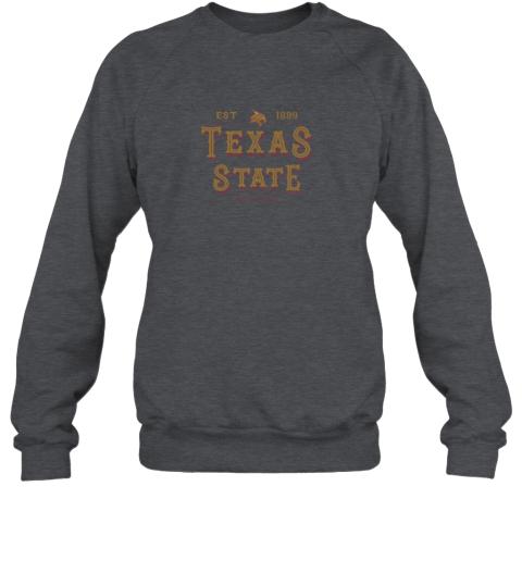 xk2w texas state bobcats womens college ncaa sweatshirt 35 front dark heather
