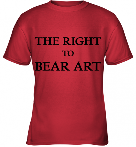 The Right To Bear Arts Youth T-Shirt