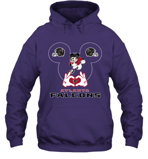 zzcq i love the falcons mickey mouse atlanta falcons hoodie 23 front purple