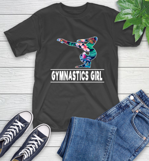 I'm A Gymnastics Girl Love Flowers And Never Give Up