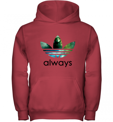 mxu8 adidas severus snape always harry potter shirts youth hoodie 43 front red